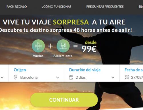 Viaje sorpresa 99 € – Wish&Fly
