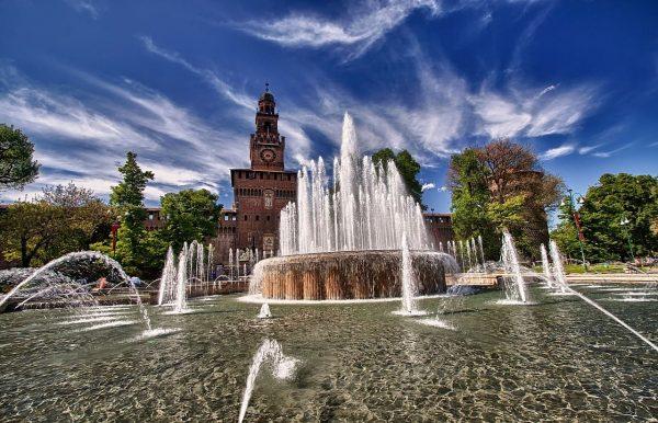 Castillo Sforzesco Milán Wish&Fly