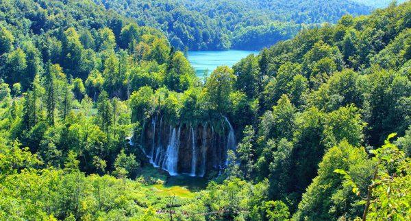 Plitvice-Croacia-cascada