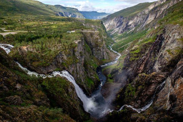 Voringfossen-Noruega