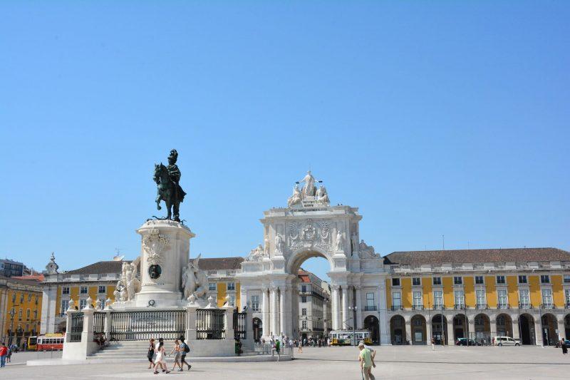 Plaza Comercio Lisboa Viaje Económico WishAndFly