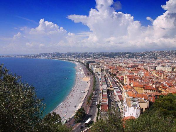 Promenade Des Anglais Niza Wish&Fly Viaje Sorpresa
