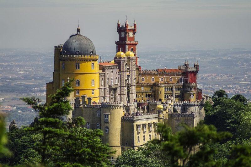Palacios Sintra Lisboa WishAndFly